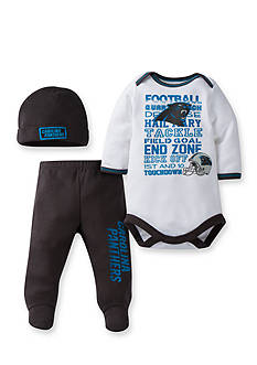 Lamaze NFL Carolina Panthers Bodysuit, Pants, and Cap Set