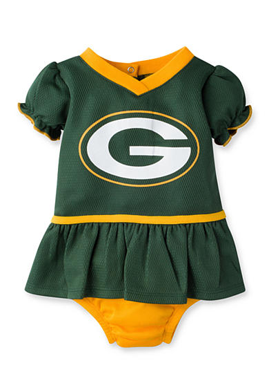 Girls NFL ® Green Bay Packers Dazzle Mesh Dress & Panty Set