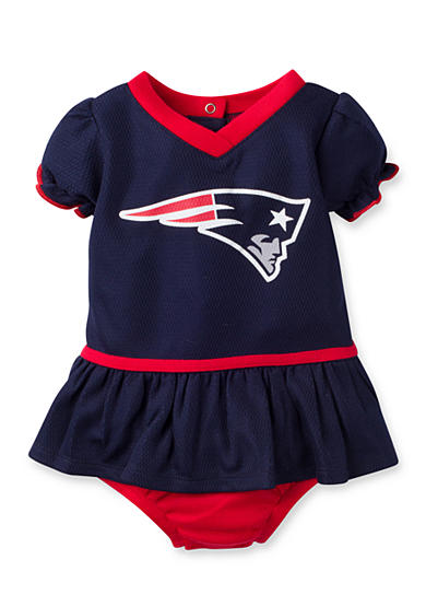 Girls NFL ® New England Patriots Dazzle Mesh Dress & Panty Set