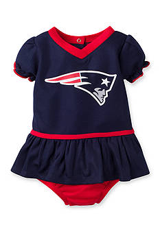 Lamaze Girls NFL ® New England Patriots Dazzle Mesh Dress & Panty Set