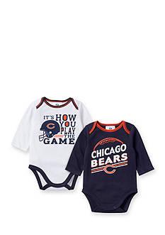 NFL Chicago Bears 2-Pack Long Sleeve Bodysuit Set