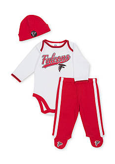 NFL Atlanta Falcons 3-Piece Bodysuit Set