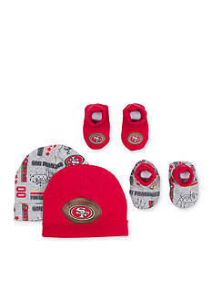 NFL San Francisco 49ers 2 Cap and Bootie Sets