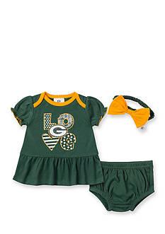 NFL Green Bay Packers 3-Piece Dress Set