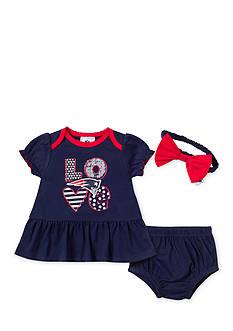 NFL New England Patriots 3-Piece Dress Set