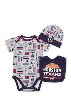NFL Houston Texans 3-Piece Bodysuit Set