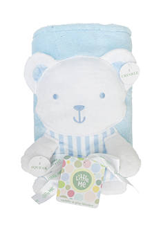Little Me Cuddly Bear Blanket