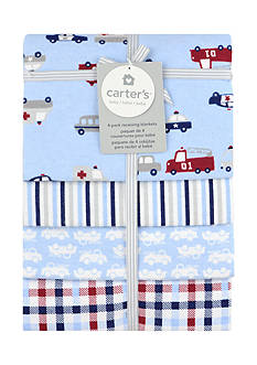 Carter's® 4 pack Flannel Receiving Blanket