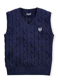 Chaps Cable Sweater Vest Boys 4-7