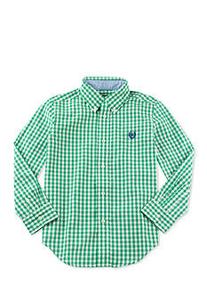 Chaps Gingham Plaid Oxford Shirt Toddler Boys
