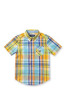 Chaps Woven Shirt Toddler Boys