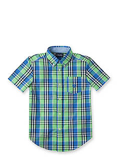Chaps Checked Button-Down Shirt Toddler Boys