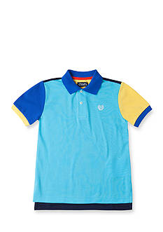 Chaps Color-Blocked Polo Toddler Boys