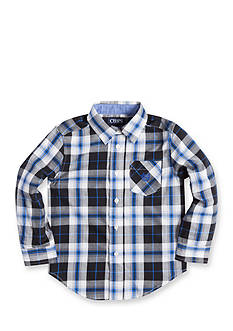 Chaps Twill Plaid Shirt Toddler Boys