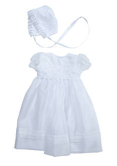 The Children's Hour Organza Christening Dress Set