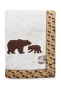 Trend Lab Northwoods Bear Receiving Blanket