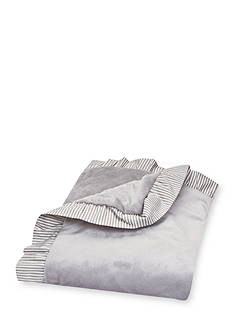 Trend Lab® Ruffle Stripe Trimmed Receiving Blanket