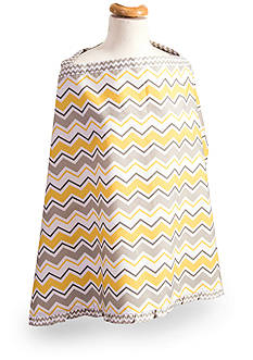 Trend Lab Buttercup Zigzag Nursing Cover