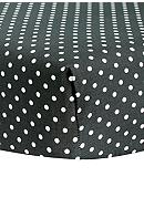 Trend Lab® Bedtime Gray Dot Crib Sheet