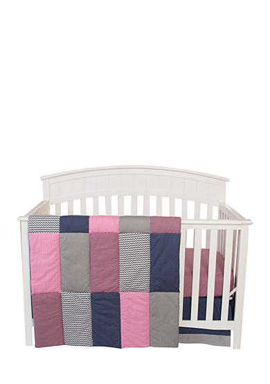 Trend Lab® Perfectly Pretty 3 Piece Crib Bedding Set