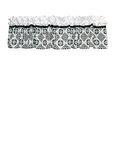 Trend Lab Versailles Black and White Window Valance
