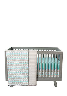 Trend Lab® Zigzag 3-Piece Crib Bedding Set