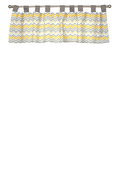 Trend Lab® Buttercup Zigzag Window Valance