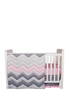 Trend Lab Chevron 3-Piece Crib Bedding Set