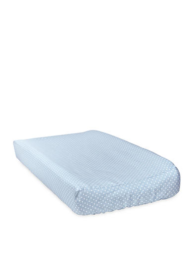 Trend Lab® Blue Taffy Mini Dot Changing Pad Cover