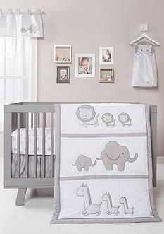 Trend Lab® Safari Chevron Three-Piece Crib Bedding Set