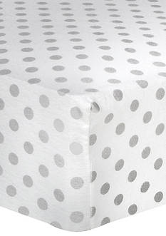 Trend Lab® Polka-Dot Fitted Crib Sheet