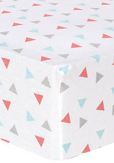Trend Lab® Triangles Fitted Crib Sheet
