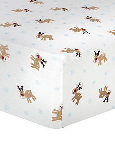 Trend Lab Winter Fitted Crib Sheet