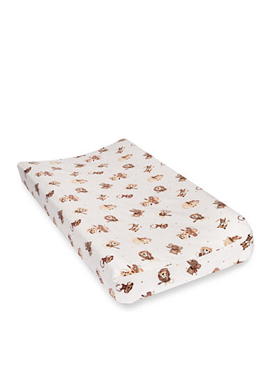 Trend Lab® Safari Rock Band Deluxe Flannel Changing Pad Cover