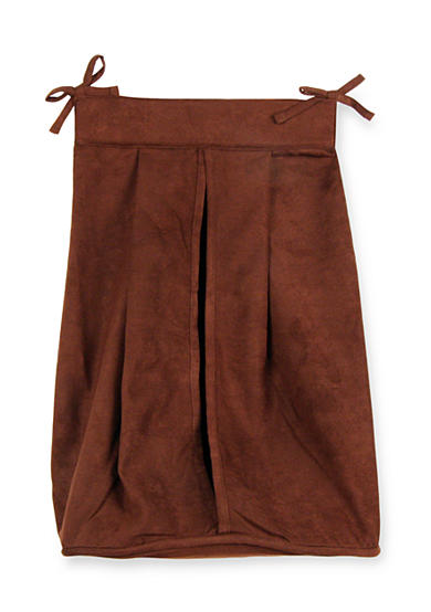 Trend Lab® Brown Ultrasuede Diaper Stacker - Online Only