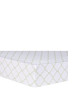 Trend Lab® Quatrefoil Fitted Crib Sheet