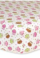 Trend Lab® Owl Flannel Fitted Crib Sheet