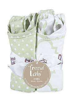 Trend Lab® Playful Patterns 4-Pack Bib Set