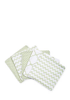Trend Lab® Playful Patterns 5-Pack Wash Cloth Set