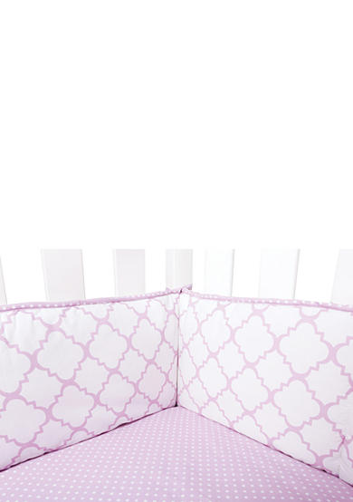 Trend Lab® Orchid Bloom Crib Bumpers