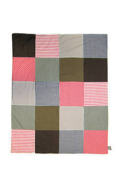 Trend Lab Cocoa Coral Receiving Blanket - Online Only