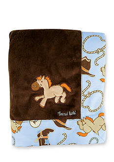 Trend Lab® Cowboy Baby Receiving Blanket