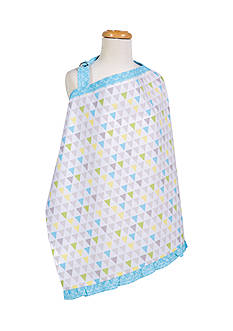 Trend Lab Triangles Multicolored Nursing Cover