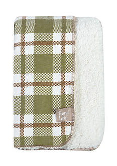 Trend Lab Deer Lodge Faux Shearing Blanket