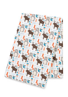 Trend Lab Scandi Forest Flannel Swaddle Blanket