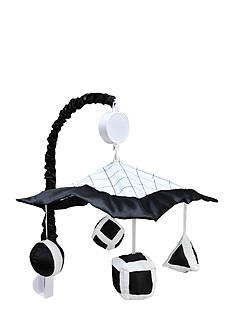 Trend Lab Versailles Black and White Musical Crib Mobile
