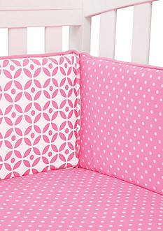 Trend Lab Lily Crib Bumpers