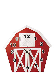Trend Lab® Baby Barnyard Barn Wall Clock - Online Only