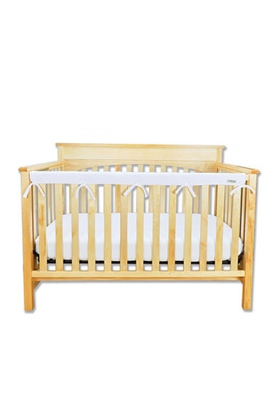 Trend lab crib wrap narrow rail cover long belk for Narrow width bunk beds