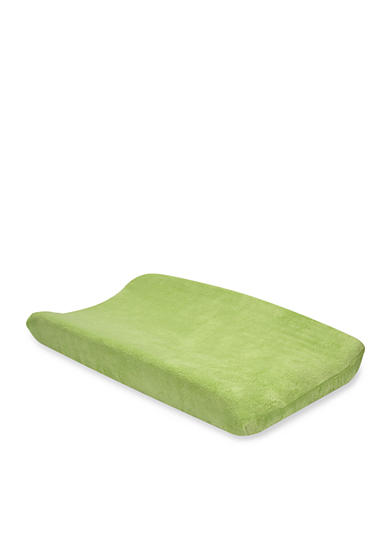 Trend Lab® Sage Green Fleece Changing Pad Cover